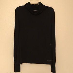 DKNY Jeans Black Turtle Neck Top